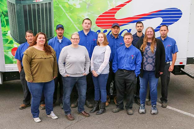 Area Heating & Cooling, Inc. Team