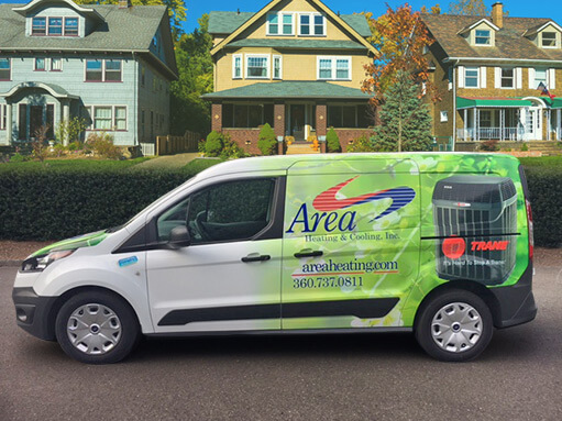 Area Heating & Cooling, Inc. Truck