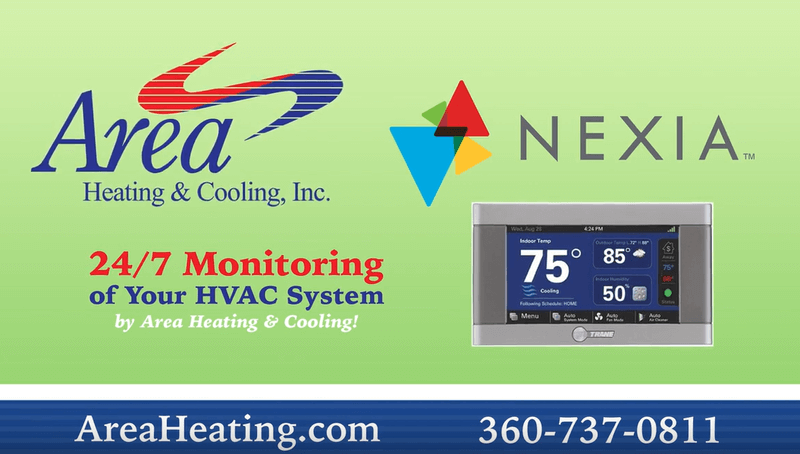Area Heating & Cooling, Inc. & Nexia | 24/7 Monitoring of your HVAC system